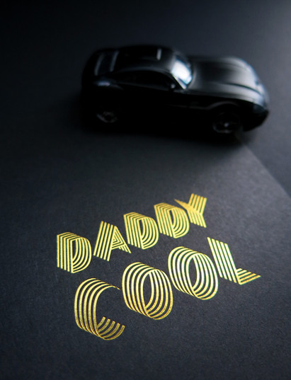 """Cardsome CARDSOME atvirukas ,,DADDY COOL"""""""